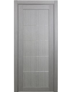 Дверь межкомнатная XL10 мираж, дуб серый