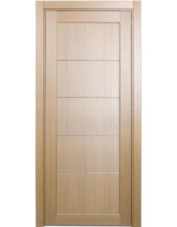 Дверь межкомнатная XL10 мираж, орех светлый