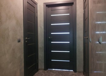 Межкомнатные двери с покрытием экошпон, модель La stella 206  (Сибирь-профиль)