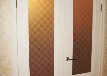 Межкомнатные двери с покрытием экошпон, модель Классика  (X-Line)  велюр белый