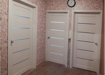 Межкомнатные двери с покрытием экошпон, модель Ligt 2125  (X-Line) велюр капучино