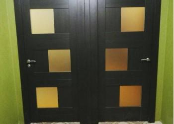 Межкомнатные двери с покрытием экошпон, модель Ligt 2180  (X-Line) велюр шокко