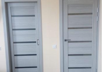 Межкомнатные двери с покрытием экошпон, модель ХL-06  (X-Line) дуб серый