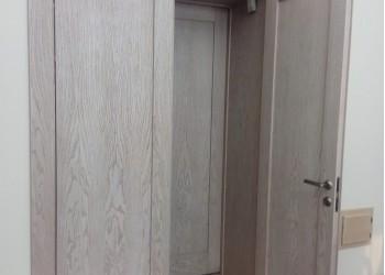 Межкомнатные двери с покрытием экошпон, модель Классика  (X-Line)  велюр серый