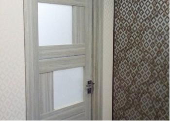 Межкомнатные двери с покрытием экошпон, модель Ligt 2180  (X-Line) велюр капучино