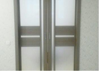 Межкомнатные двери с покрытием экошпон, модель Венеция 2  (X-Line) фисташка