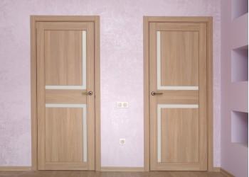 Межкомнатные двери с покрытием экошпон, модель XL 17 (X-Line)