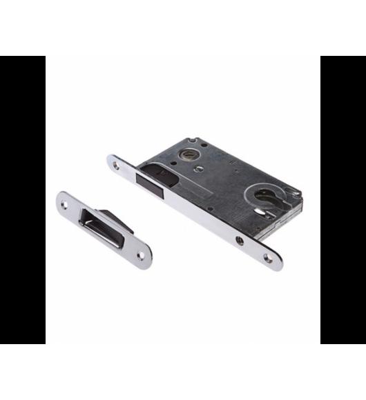 2085 Хром (защелка магнитная под ключевой цилиндр)