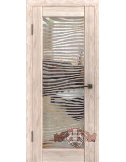 LINE 8 Л8ПО1 триплекс зеркало, бронза Зебра (Лайн 8)