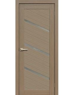 Дверь Сиб-профиль Fly Doors L-05 экошпон тиковое дерево