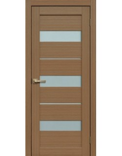 Дверь Сиб-профиль Fly Doors L-20 тиковое дерево