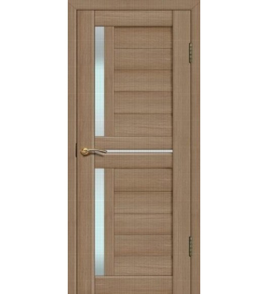 Дверь Сиб-профиль Fly Doors L-22 тиковое дерево