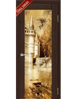 Дверь Сиб-профиль фото Замок дуб мокко (заказ)