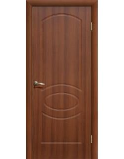 Дверь Сиб-профиль Неаполь ПВХ итальянский орех ПГ
