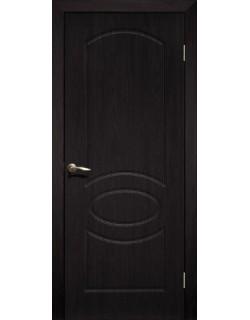 Дверь Сиб-профиль Неаполь ПВХ венге ПГ