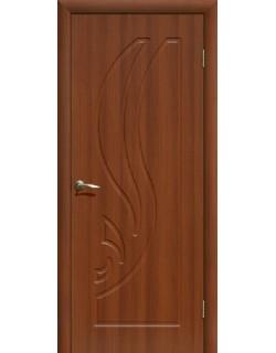 Дверь Сиб-профиль Лилия ПВХ итальянский орех ПГ