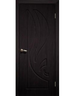 Дверь Сиб-профиль Лилия ПВХ венге ПГ