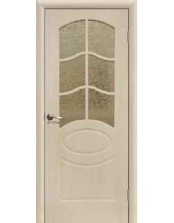 Дверь Сиб-профиль Неаполь ПВХ беленый дуб ПО