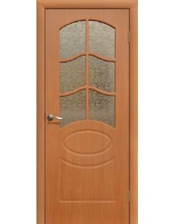 Дверь Сиб-профиль Неаполь ПВХ миланский орех ПО