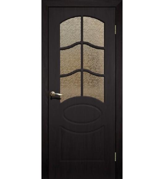 Дверь Сиб-профиль Неаполь ПВХ венге ПО