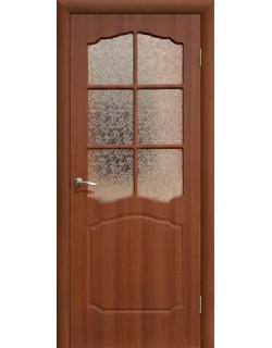 Дверь Сиб-профиль Классика ПВХ итальянский орех ПО