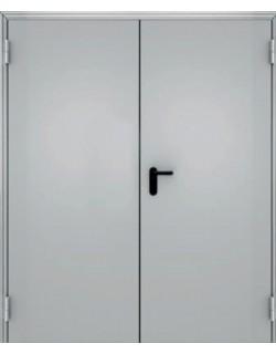 Противопожарная двустворчатая дверь (размер: 1380 /2050мм)