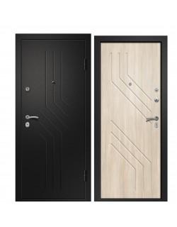 Входная дверь Аризона-215, сатин черный Ретвизан