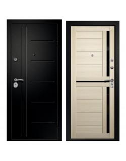 Входная дверь Аризона-217, сатин черный Ретвизан