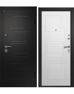 Входная дверь Аризона-225, сатин черный Ретвизан