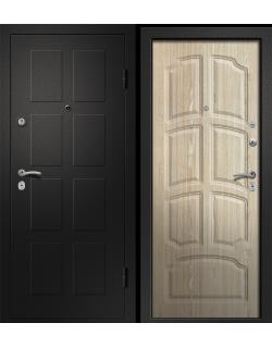 Входная дверь Аризона-231, сатин черный Ретвизан