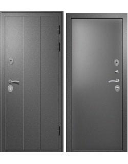 Входная дверь Н-3, Букле темно серый Ретвизан