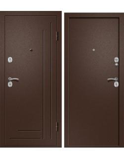 Входная дверь Одиссей-100, медь-антик Ретвизан