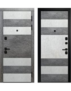 Входная дверь Орфей - 241, Сатин черный Ретвизан