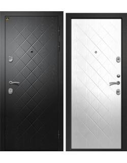 Входная дверь Орфей -321, Сатин черный Ретвизан