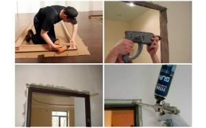 Как самому установить межкомнатные двери