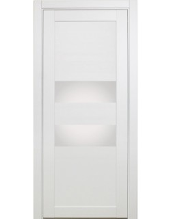 Межкомнатная дверь XL03, белый монохром