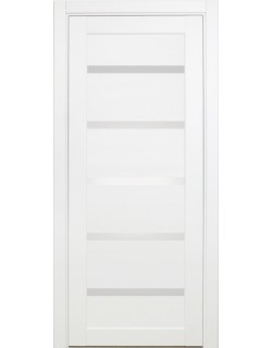 Межкомнатная дверь XL06,  белый монохром