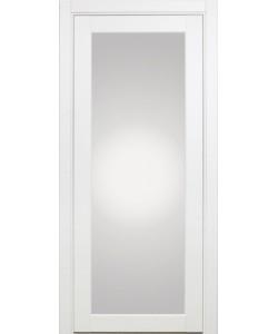 Межкомнатная дверь XL07, белый монохром