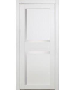 Межкомнатная дверь XL17, белый монохром