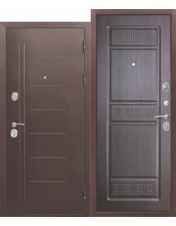 Входная дверь Троя 10см Медный антик венге